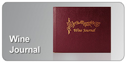 leather bound wine journal